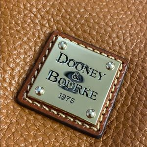 Large Dooney & Bourke leather hobo bag